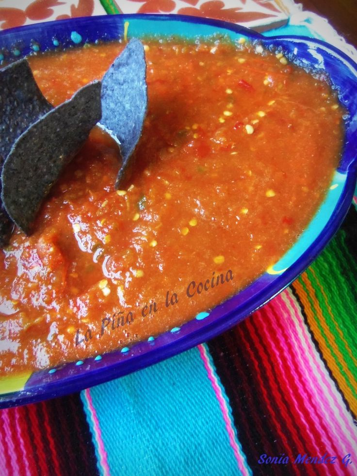 Salsa de Mesa (Table Salsa) - Hispanic Kitchen