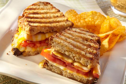 More like this: paninis , bacon and tomatoes .