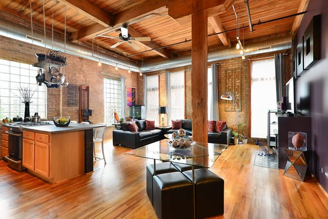1000 images about chicago lofts on pinterest lack table - 2 bedroom apartments in bronzeville chicago ...