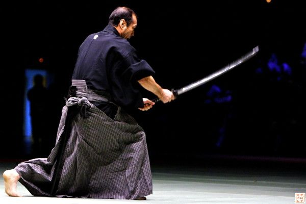 Tetsuzan Kuroda shisho.  Lightning fast with grace and precision.