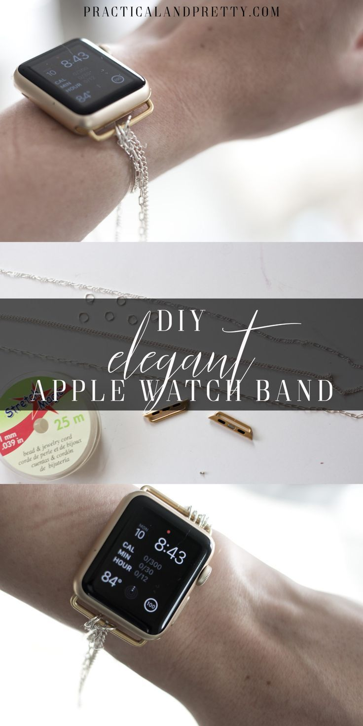 Diy Apple Watch Band Apple Watch Bands Apple Watch Diy Watch Band