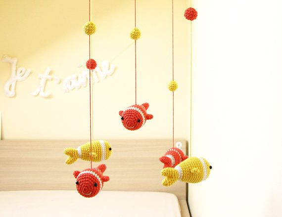 Tropical Baby Mobile Nursery Mobile Nursery Decor by cherrytime, $84.00