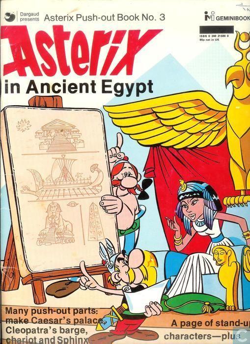 Livre - Astérix - Asterix in Ancient Egypt