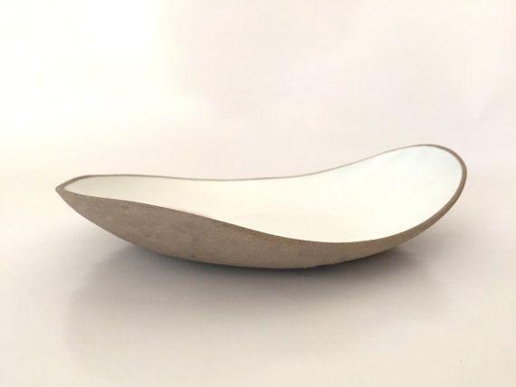 Ceramic Fruit Bowl Serving Bowl Ceramic Serving Tray by bininaor