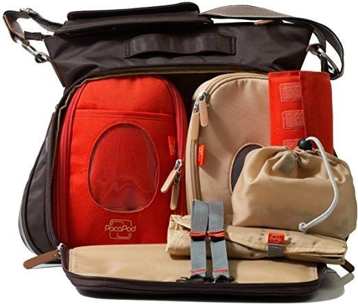 PacaPod Portland Diaper Bag from PacaPod - The Bump Baby Registry Catalog
