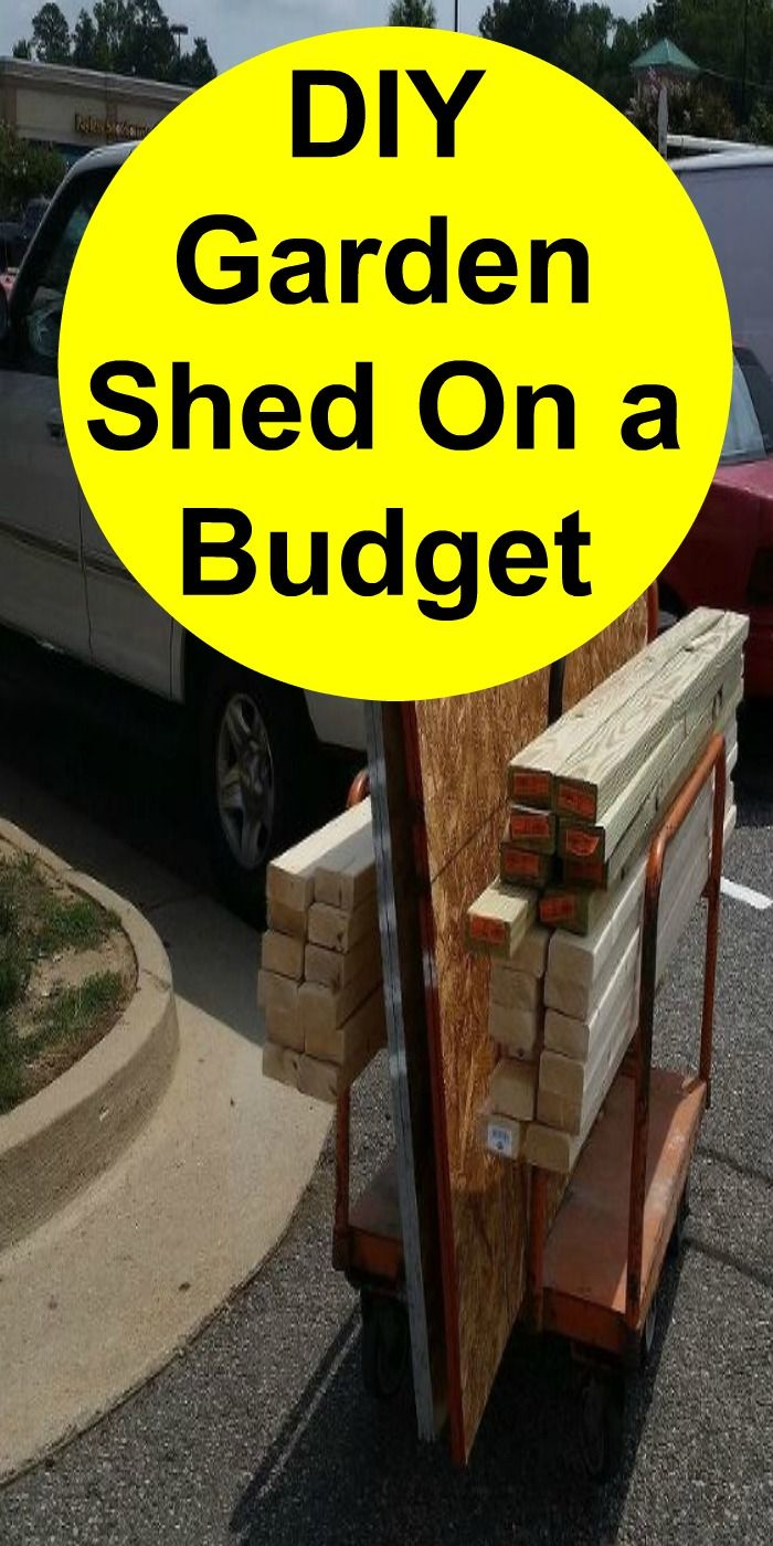 DIY Garden Shed on a Budget