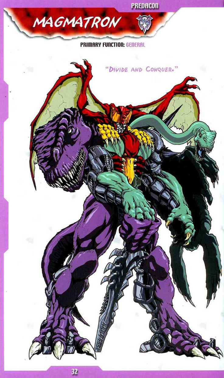 Transformers Universe - Beast Machines Dinobot Magmatron - 32 / 33