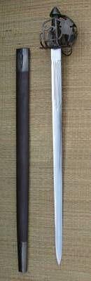 Raven's samurai sword