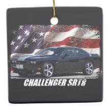 2011 Challenger SRT8 Ceramic Ornament