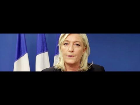 """Will media stop calling France's Le Pen a """"far right extremist"""" now? - YouTube"""