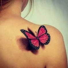 tattoo butterfly 3d - Buscar con Google