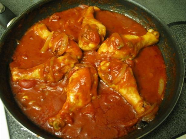 Chicken Dish from Netherlands Antilles - Original. Photo by B.B.Grimm