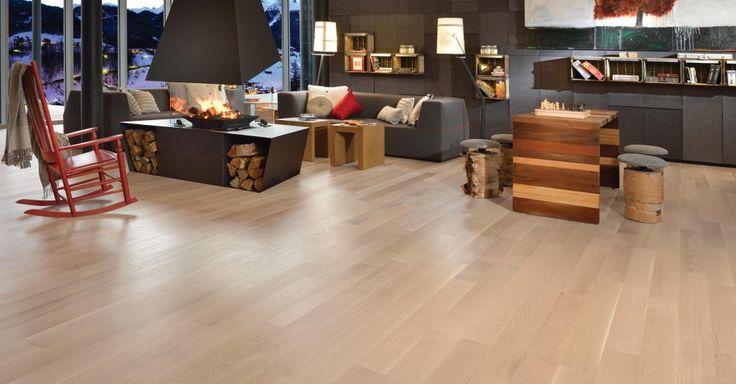 La collection Alive, un plancher s'harmonisant au rythme accéléré des familles d'aujourd'hui. Un look légèrement brossé.