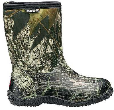 Bogs Kid's Classic Mid Camo Rubber Boot Style: 51366-973