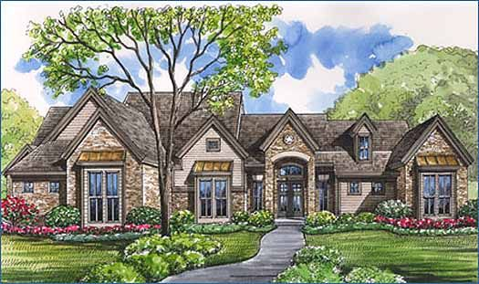 The Popularity Of Unique Country House Plans Has Certainly
