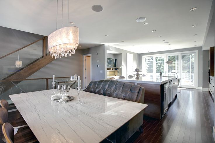 Dining room by Sarina Homes