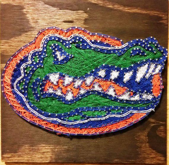 Florida Gators String Art Sign Made to Order by RubyOwlDesigns