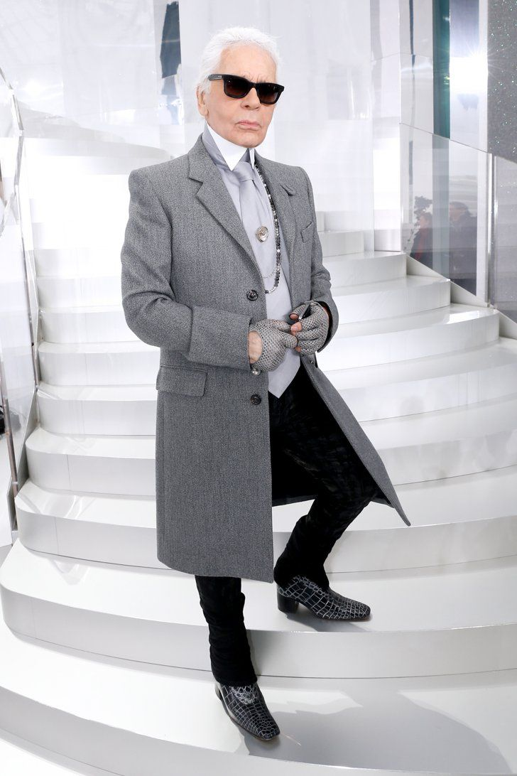 Pin for Later: 10 Style Lessons to Learn From Karl Lagerfeld
