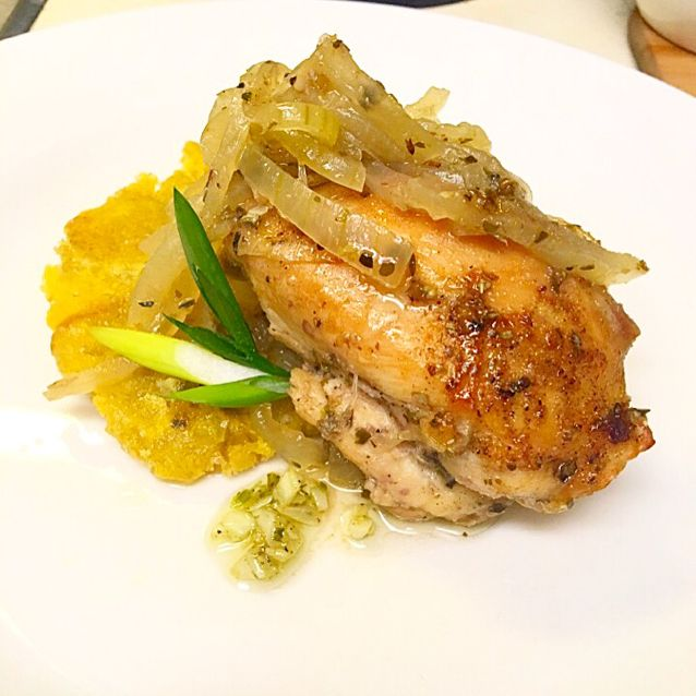My step Mother made this dish once a week most of my life and after years of trial and error making it I finally got it down! It''s an easy and quick recipe that''s great for the lover of onions. - Pollo Encebollado (Chicken and Onions)