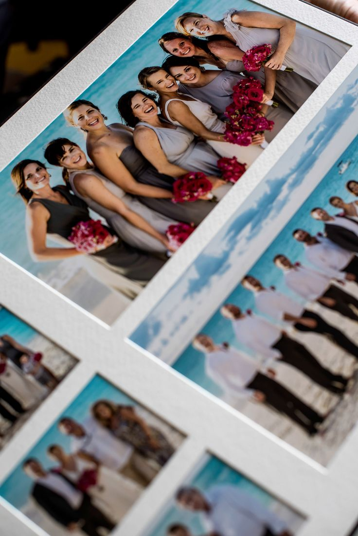 Matted Wedding Album - Design by Shaun Taylor Photography