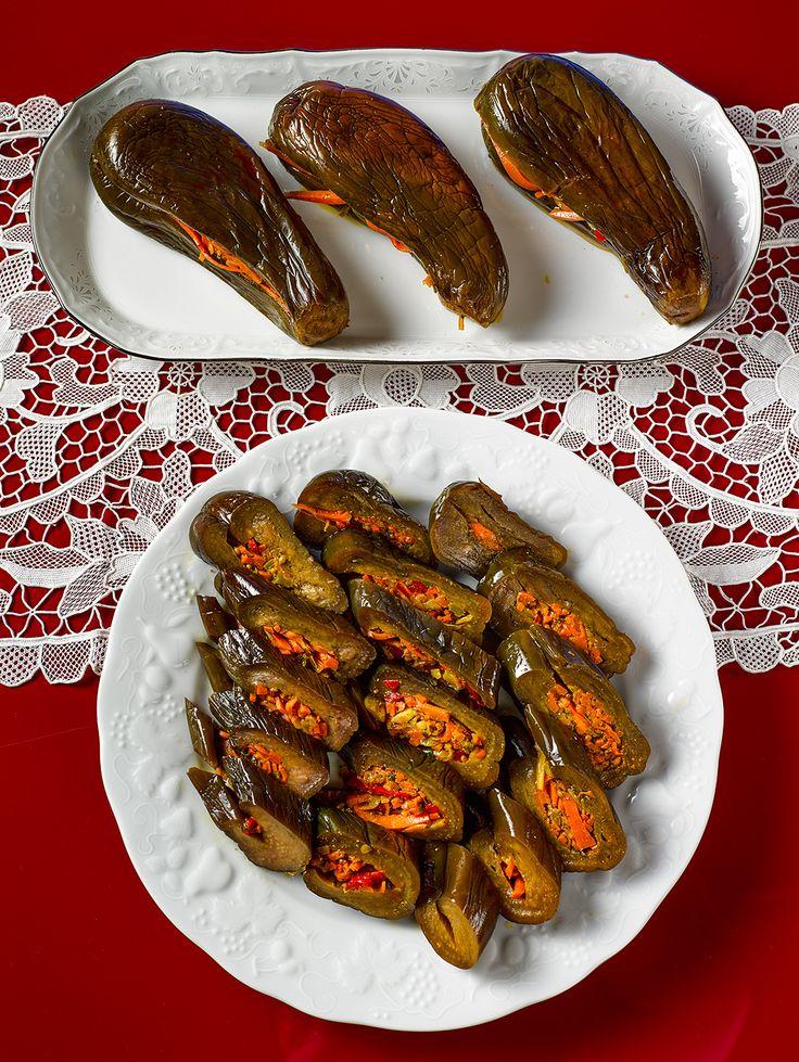 БЛОГ ПОЛЕЗНОСТЕЙ: Маринованные баклажаны - обалденная закуска!