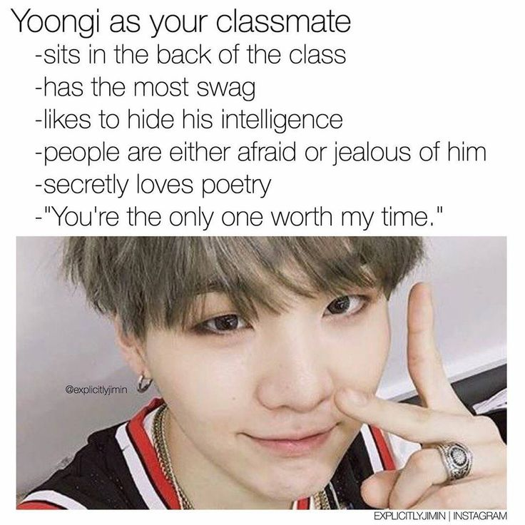 #BTS as your classmate ❤ © explicitlyjimin