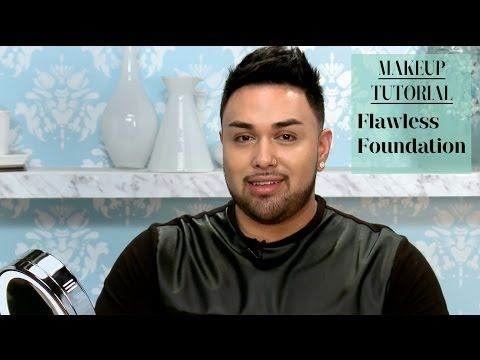 Flawless Foundation Makeup Video Tutorial with MAC Daddy