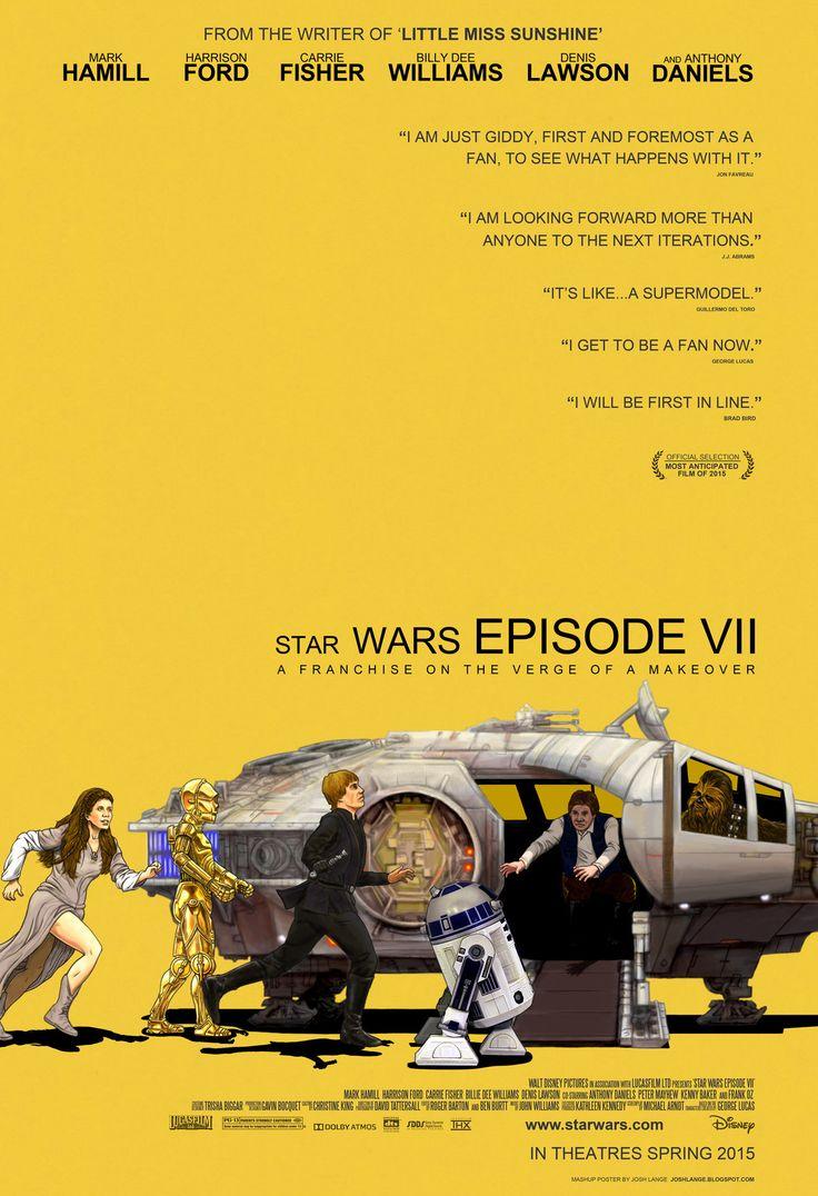 Awesome STAR WARS / LITTLE MISS SUNSHINE Mashup Poster
