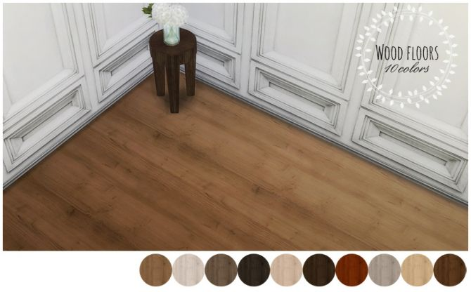 WOOD FLOORS at MIO via Sims 4 Updates