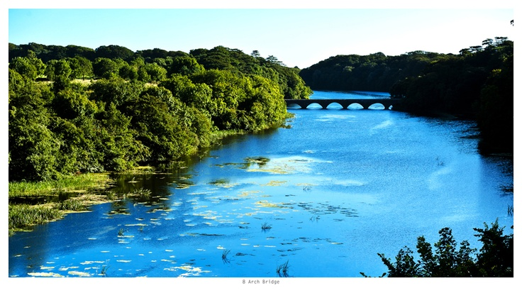 8 Arch Bridge, Stackpole estate, Pembrokeshire