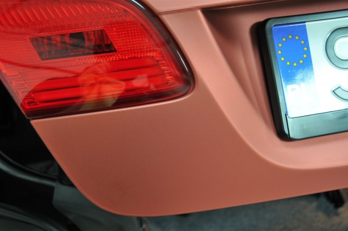 BMW 3 Cabrio - Red Aluminium