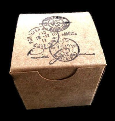 10 caselle di destinazione matrimonio favore, viaggio scatole favore a tema, favore timbrato a mano, scatole di piccolo favore on Etsy, €3,91