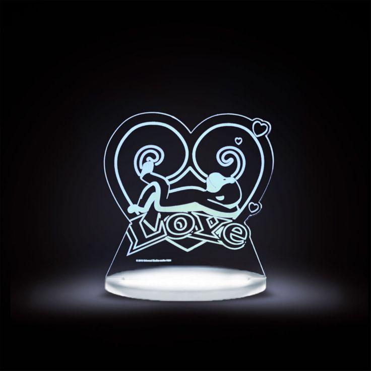 Total Dreamz Curious George Love Multicolored LED Night Light - CG-LOVE