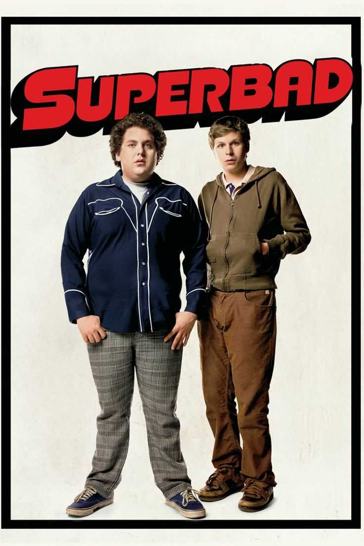 Three high-school kids go nuts trying to procure liquor to show off and impress girls at a party. Only problem is their age. A series of funny and unfortunate events, you have Superbad. Jonah Hill, Michael Cera and Chris Mintz-Plasse are insanely hilarious.