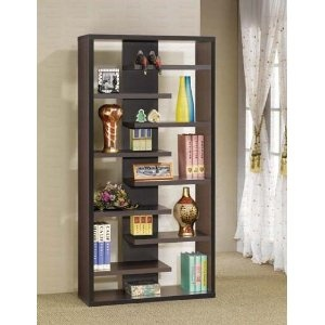 Display Bookcase Contemporary Style in Cappuccino Finish $92: Ideas, Bookcases, Display Cabinets, Style, Cappuccinos, Cappuccino Finish, Living Room, Furniture