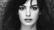 anne hathaway: Annehathaway, Famous, Faces, Black And White, Beautiful People, Favorite, Inspiration People, Actresses, Anne Hathaway