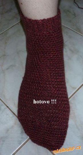 Našla jsem v americkém časopise jednoduchý návod na ponožky. Je lehce přizpůsobitelný na jakoukoli v...