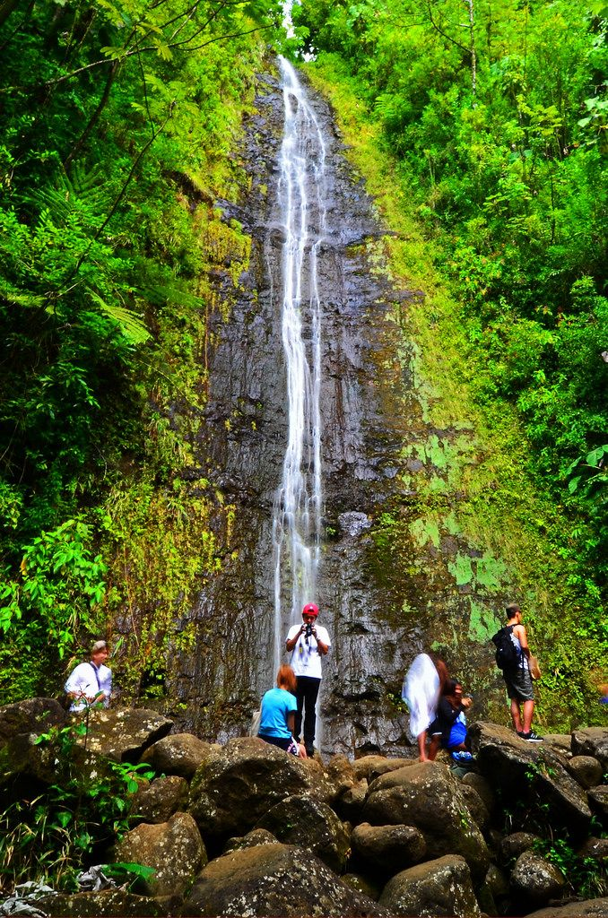 At a roundtrip distance of about three miles, the hike to the Manoa Falls is a little more strenuous than the Kapena Falls. However, the trail only has a slight slope | hawaiianexplorer.com