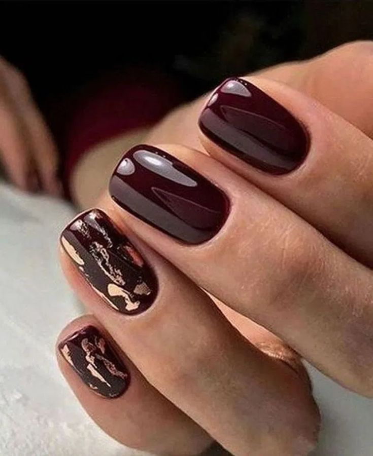 58 Most Gorgeous And Cute Light Nails Ideas For Winter And Spring Life Page 30 Of 60 Diaror Di In 2020 Burgundy Nail Designs Fall Nail Designs Burgundy Nails