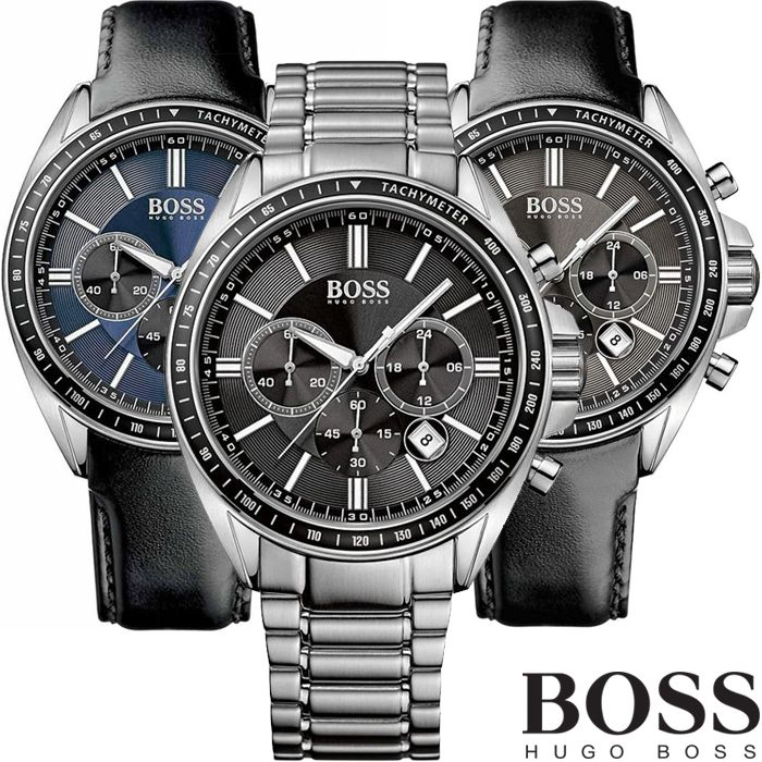 Dagaanbieding: Hugo Boss Driver Chronograaf Horloges