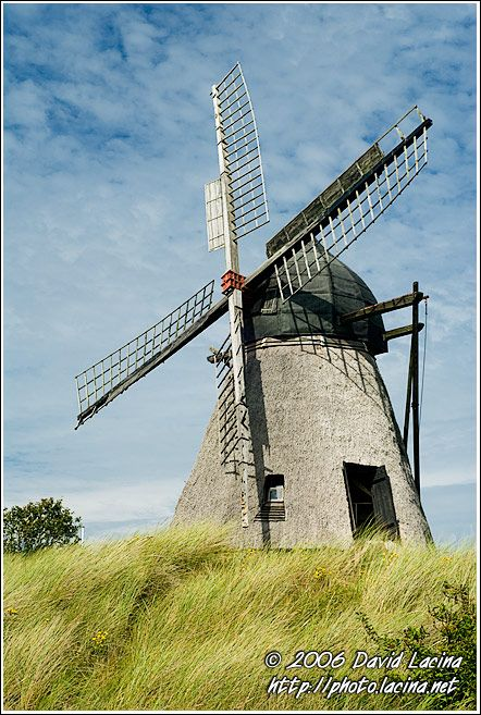 Old Windmill In Skagen - Skagen, Denmark.