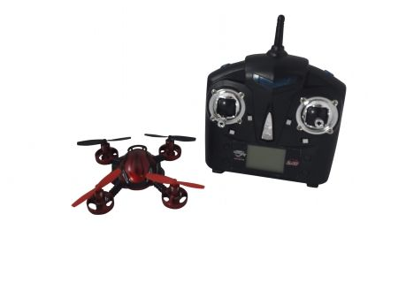 Aerocraft Mini Cam-2G Drone RC - Fly & Capture, Download and Share! The Aerocraft is a 6-axis radio controlled aircraft with and a gyro system and a built-in camera (640 x 480). Takes images or video directly to an included mini SD card which can be transferred to your smartphone or computer.