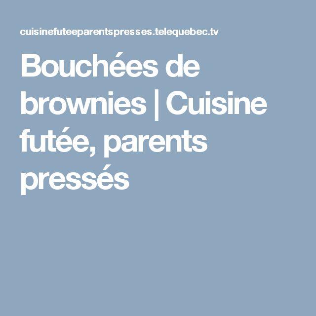 Bouchées de brownies | Cuisine futée, parents pressés