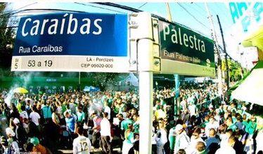 Contra toda discriminação. A rua Palestra Italia é do Palmeiras. O bairro é do clube. O MP é mais do promotor que do público - Esporte - UOL Esporte