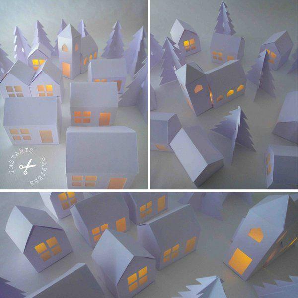 village en papier
