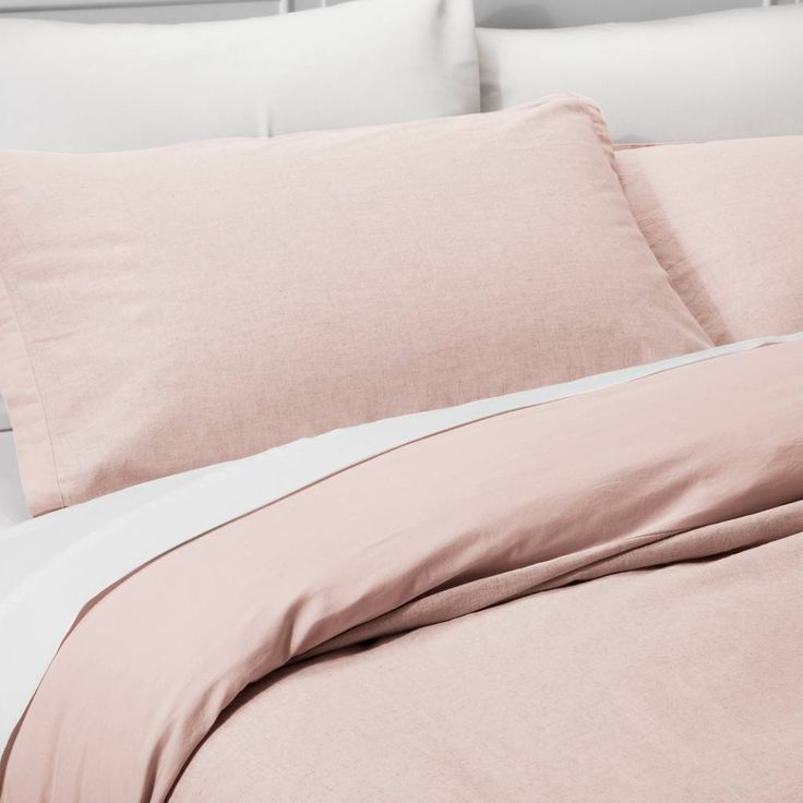 Blush Pink Duvet cover from Target