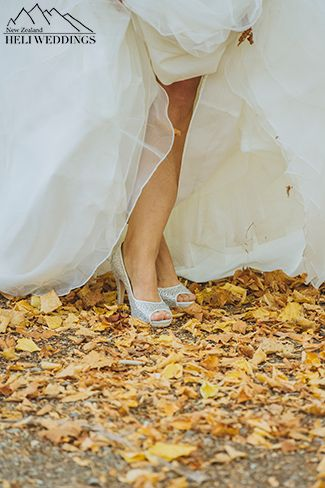 Bride & groom in Wanaka Station Park, Wanaka Wedding Wedding Planned by Heli & Destination Weddings NZ Photography by http://www.larsson.co.nz  photography, Autumn wedding in Wanaka,Wanaka Destination Wedding