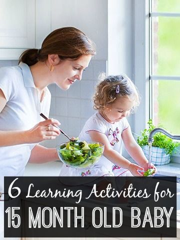 6 Learning Activities For Your 15 Month Old Baby: Your 15-months-old enjoys typical games that give her an opportunity to interact with things by squeezing, pulling and pushing. Let's have a closer look at her developments