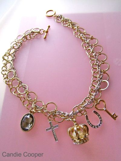 chain necklace, gonna do this: Madonna Necklaces, Chain Necklaces, Quick Necklaces, Chains Necklaces