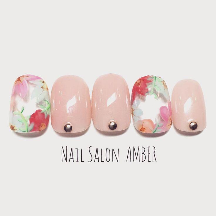 #nail #nails #nailart #instanails #amber #ネイル #ネイルアート #ジェルネイル #スカルプ #八王子ネイルサロンアンバー #八王子 #春ネイル #サンプルチップ